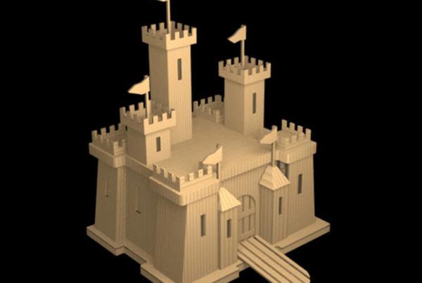 Props_Sets_Modeling_CGI_Toy_Castle